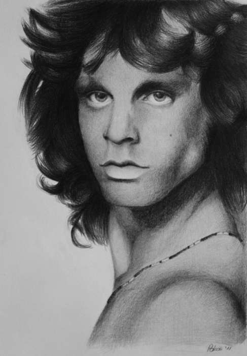 Jim Morrison by raphaell93